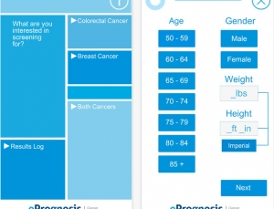 ePrognosis Cancer Screening App Review, an Evidence based Tool