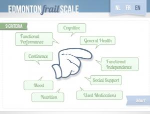 Review of Edmonton Frail Scale App, A Clever POC Geriatrics App