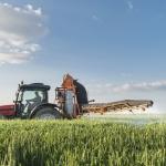 Farmworker in field