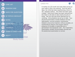 Review of Family Medicine Study Guide app, for Family Medicine Board Review