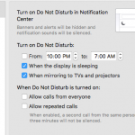 turn off notifications on mac os x