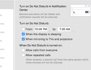 MD Tech Tips: Quickly turn off notifications when giving medical presentations
