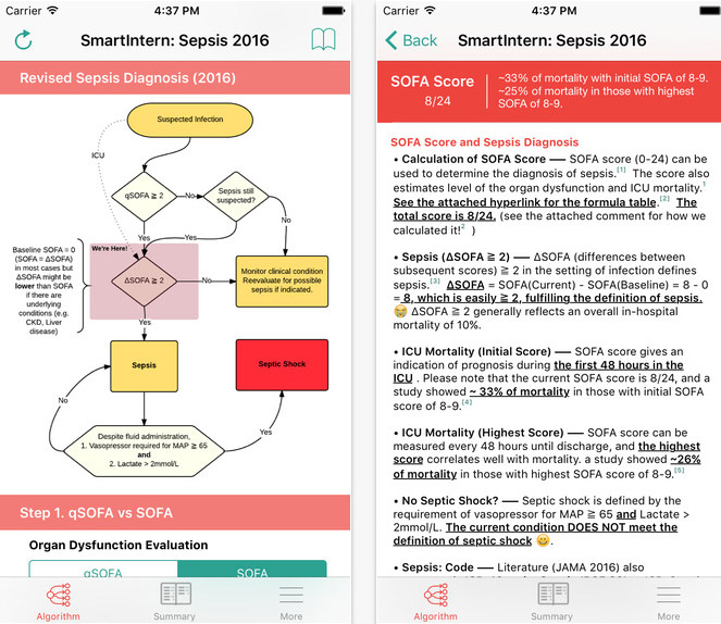 SmartIntern Sepsis app review sepsis management medical  : feat 12 from www.imedicalapps.com size 663 x 574 jpeg 127kB