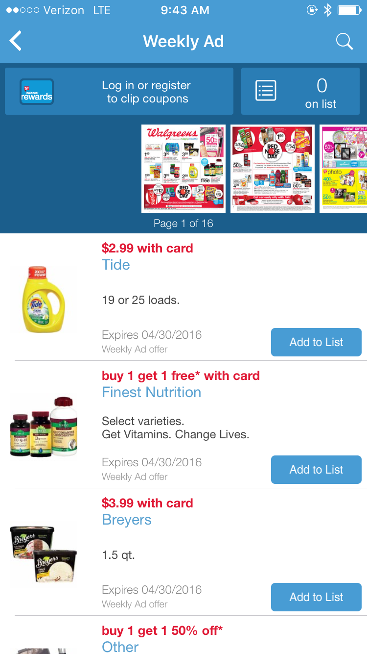 walgreens mobile app photo coupons   i9 sports coupon