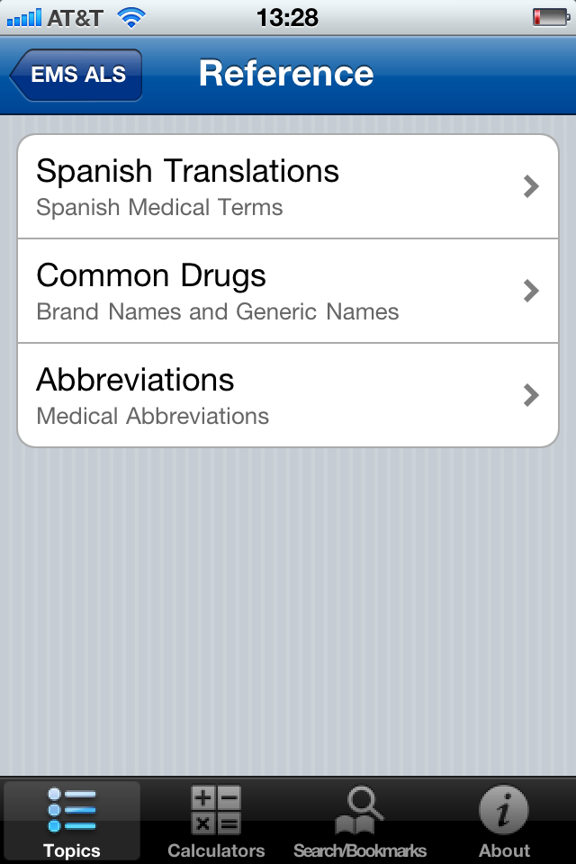Apps for emts