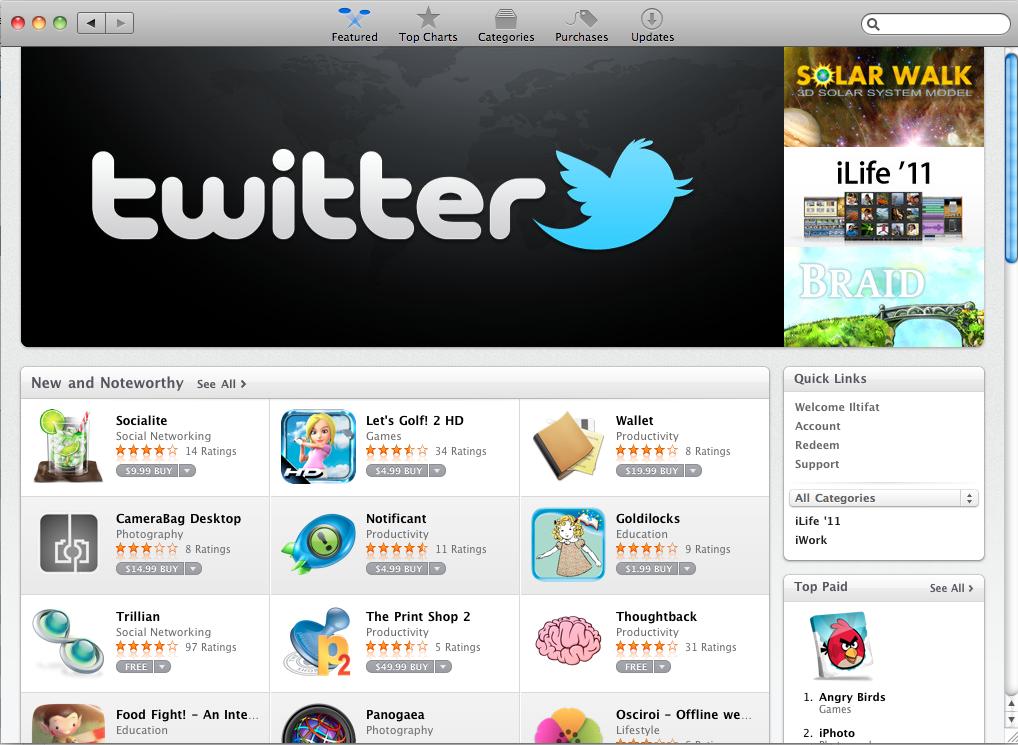 Mac App Store presents possibilities for medical community