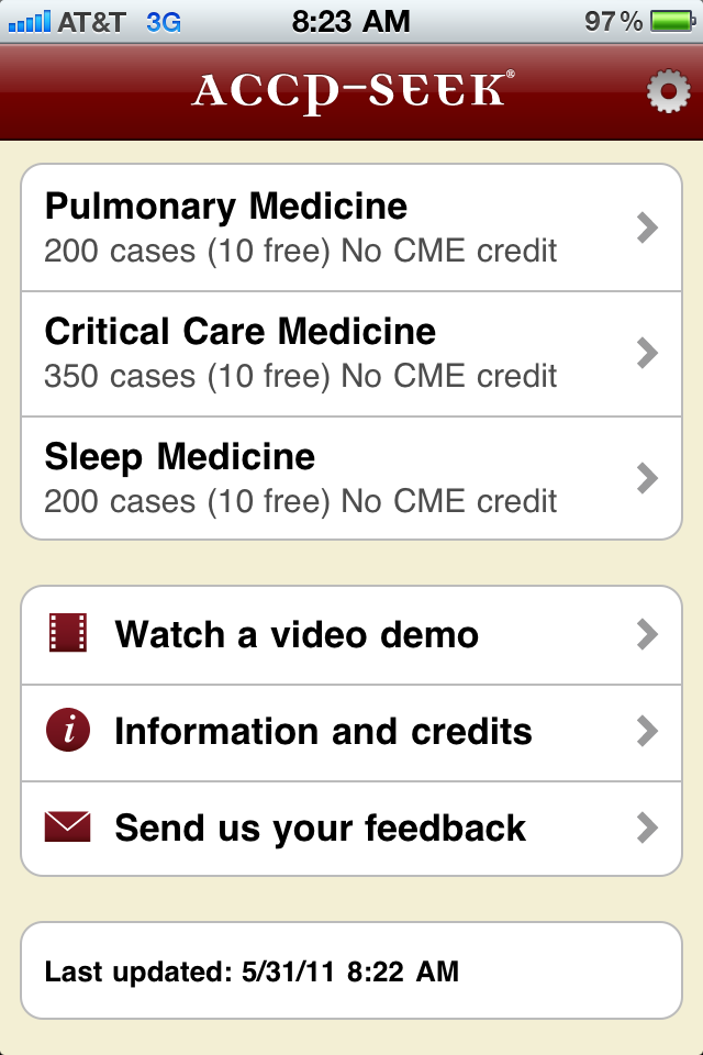 Prepare for Pulmonary & Critical Care boards with the ACCP