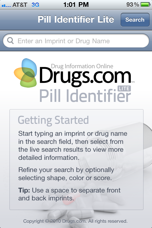pill identifier lite : head-to-head comparison against pill, Skeleton