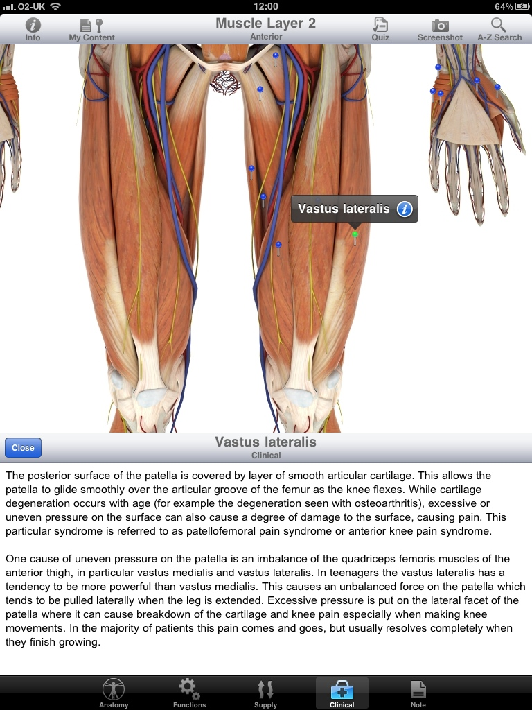 Pocket Body 3d The Way Anatomy Apps Should Be On The Ipad