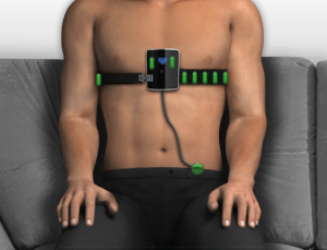SmartHeart turns your smartphone into a personal ECG
