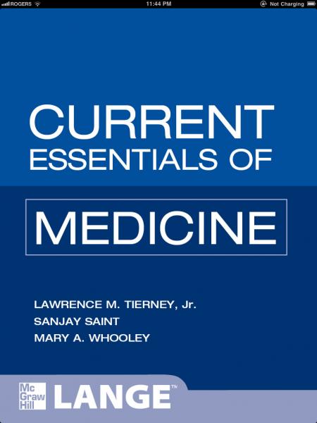 CURRENT Essentials Pediatrics (LANGE CURRENT Essentials)
