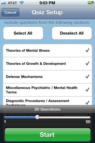 HESI QuizMe app: Psychiatry basics, overpriced and content