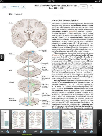 Coursemart Neuroanatomy Has Some Good Features But Lacks Some