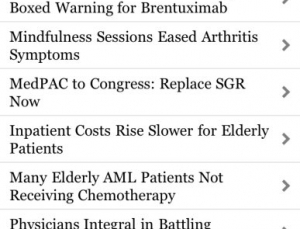 Internal Medicine News app is a must have app for hospitalists and primary care doctors