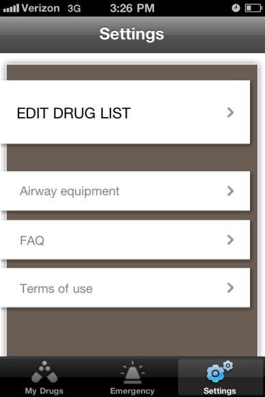 PediCalc medical app, customizable pediatric drug dosing at the