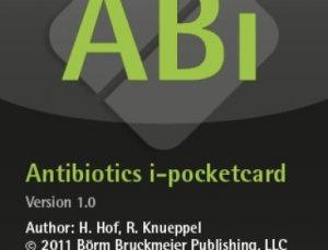 Antibiotics I-Pocketcards app assists healthcare providers with antimicrobial choices
