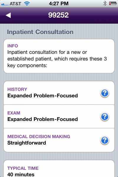 review of cpt medical billing app from the american medical association