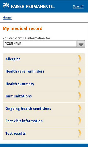 Medical Records Kaiser Permanente