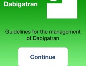 New app helps clinicians manage new anticoagulant Pradaxa (Dabigatran)