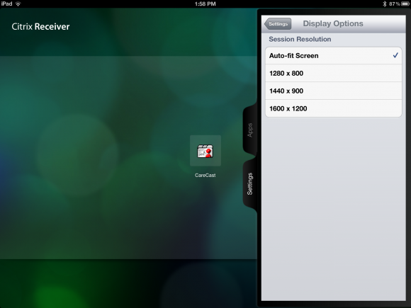 Why doctors should not update the Citrix app on the New iPad