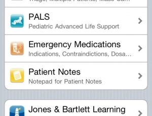 Porter's Pediatric ALS App is a great emergency room resource