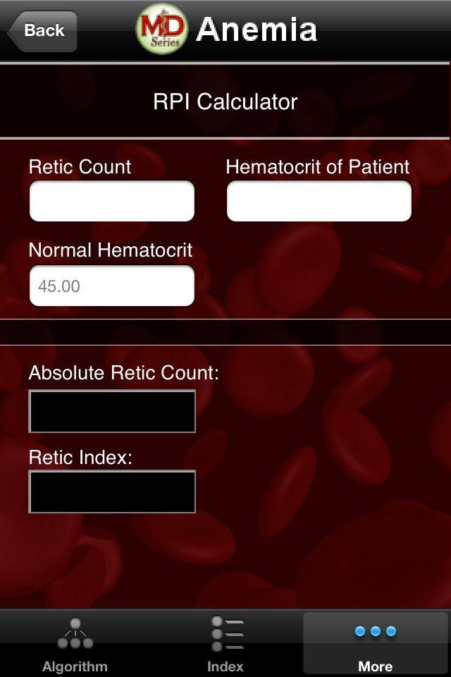 Master Diagnosticians develop useful anemia algorithm in app form