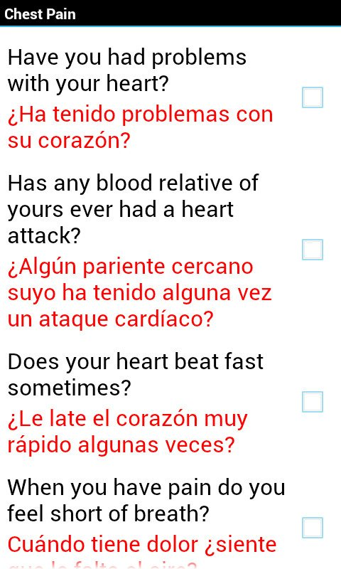 Emergency Medical Spanish Brings Mobile Interpreter To Your Android