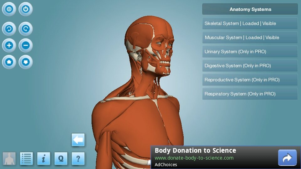 Detailed 3d Anatomy Learning Brought To Android Via Anatronica App