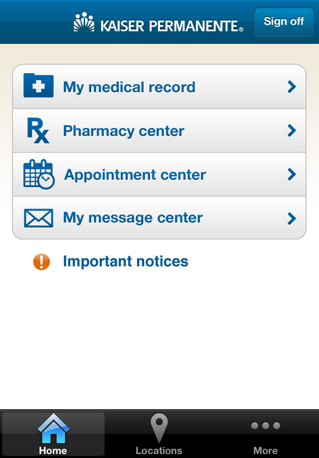 Kaiser Android App