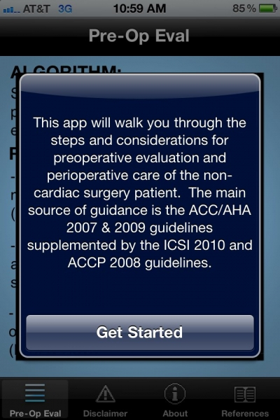 PreOpEval App is a free and must-have resource for