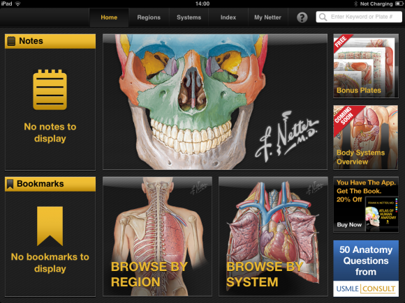 Netters Atlas Of Human Anatomy Ipad App Is A Powerful Anatomical