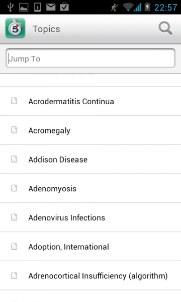 5 Minute Clinical Consult App For Android Is A Great Medical Resource