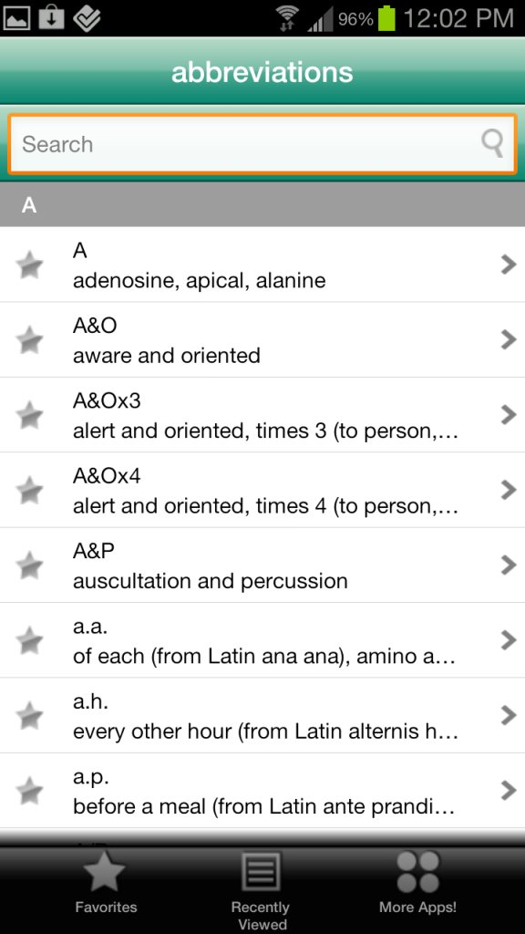 Lab Values Plus app is one of the best developed Android