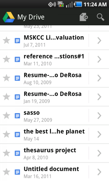 Google Drive Android app helps with research collaboration ...