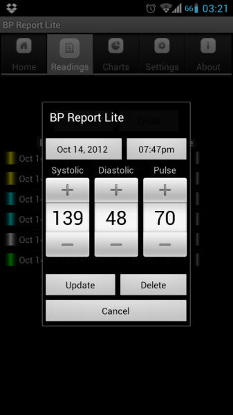 Blood Pressure Report App For Android Can Help You Track Your Bp