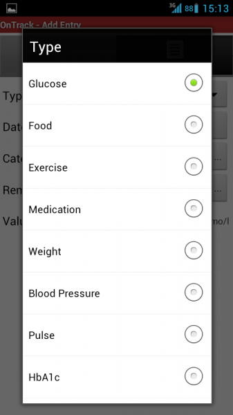 how to set medical info app on android