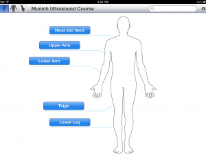 MUC app teaches MSK ultrasound for guided interventions