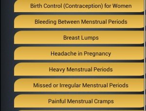 Virtual Nurse – Birth Control for Android can sort general questions but needs more work