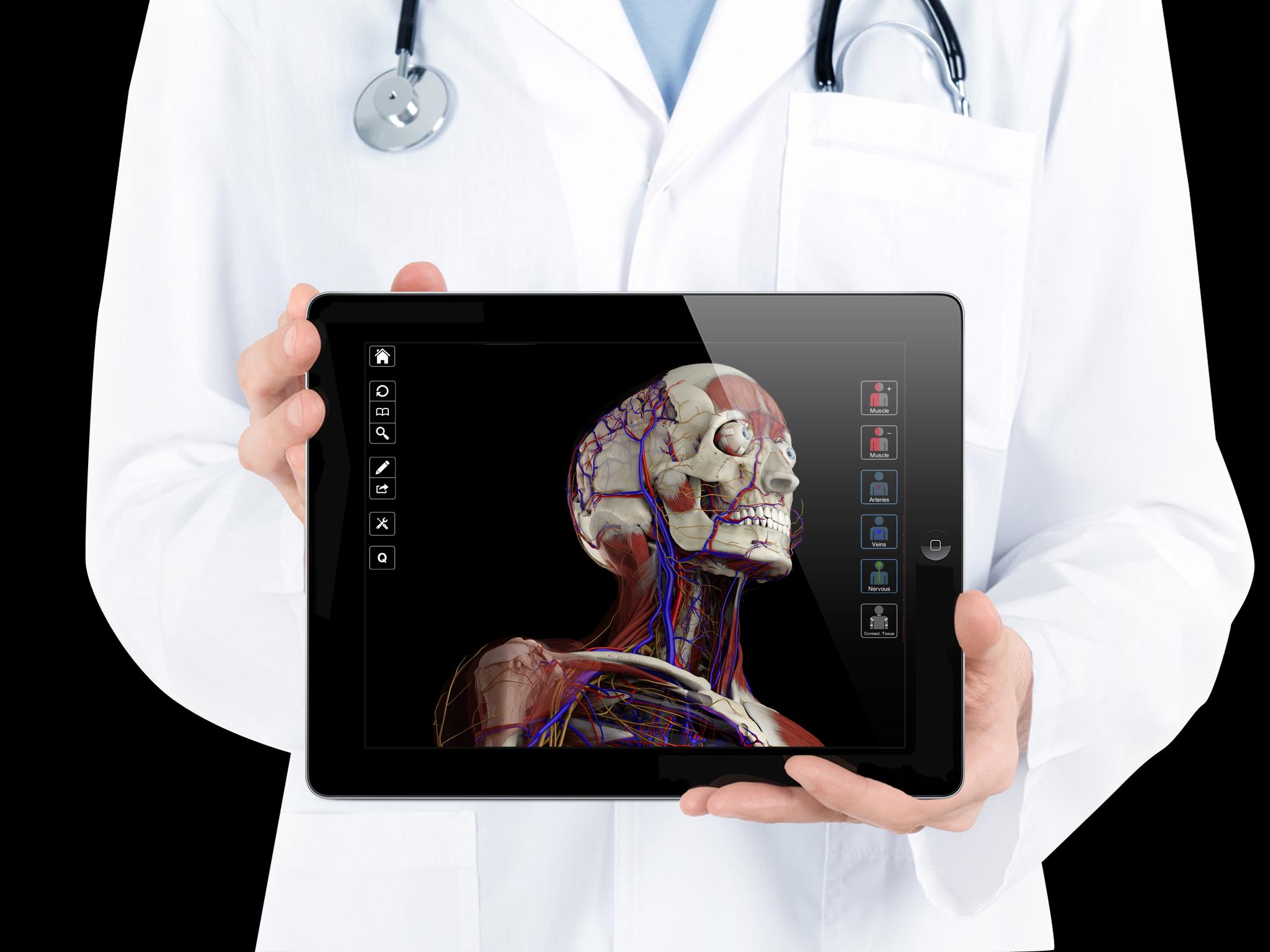 3D4Medical prepare to launch unique 3D essential anatomy app