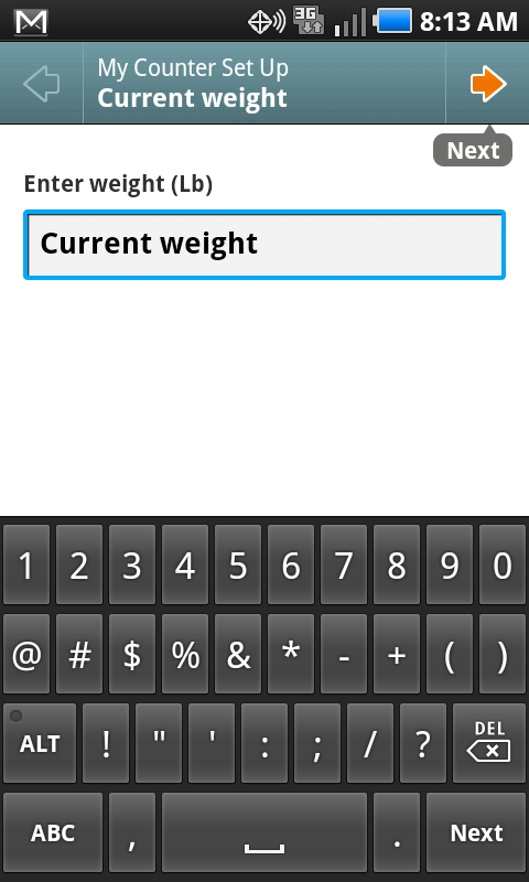 Calorie Counter For Android Is Simple Convenient And