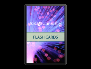 ASCO Flashcards app, all things Oncology if you have the money
