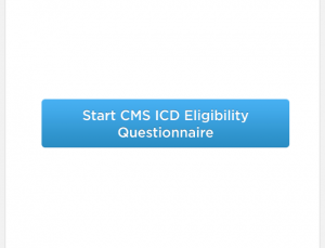 CMS ICD app enables you to quickly assess if your patient's defibrillator will be covered by insurance