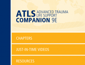 MyATLS for iOS & Android is an interactive companion to ATLS textbook