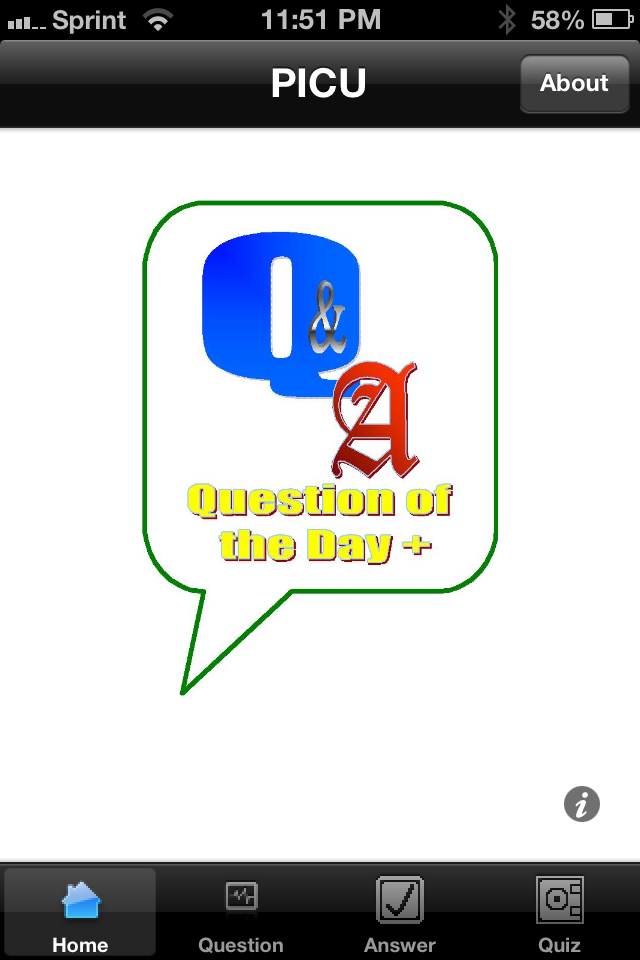Question Of The Day App