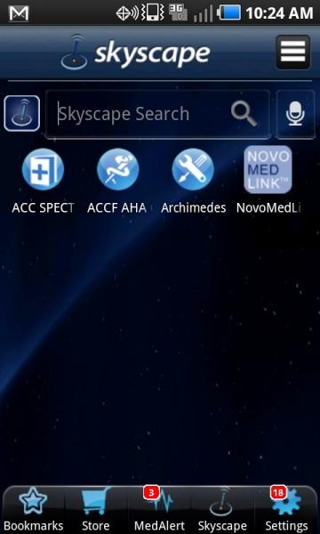 ACC in skyscape
