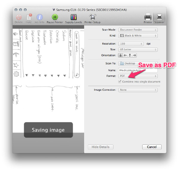 Prototype your app rapidly with a pen some paper and preview mac os xs standard scanning software automatically creates a pdf you may have to use a program like adobe acrobat or preview to import separate images and malvernweather Gallery
