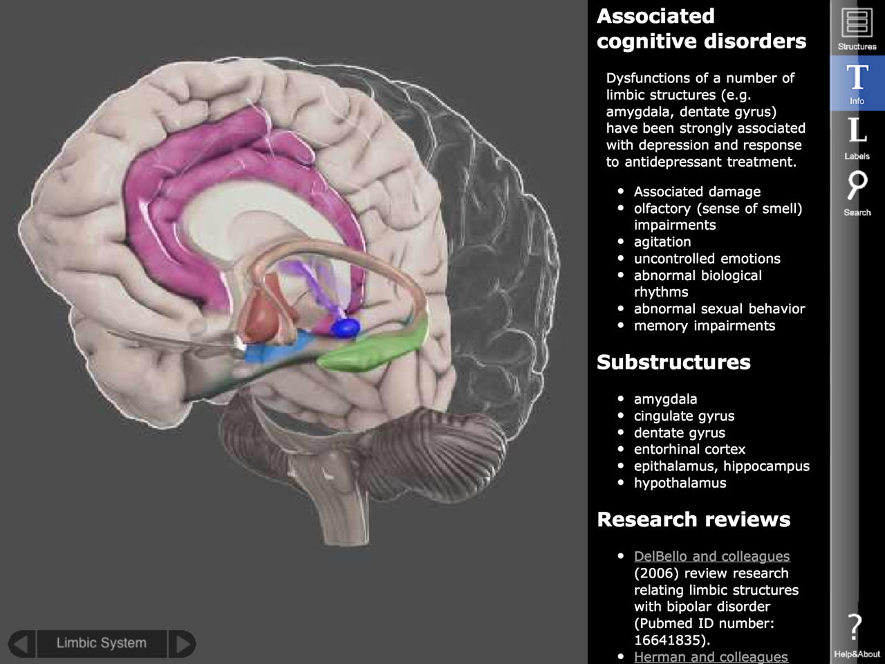 3D Brain iPhone and iPad medical app review