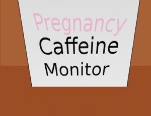 Pregnancy Caffeine Monitor medical app tracks daily caffeine use