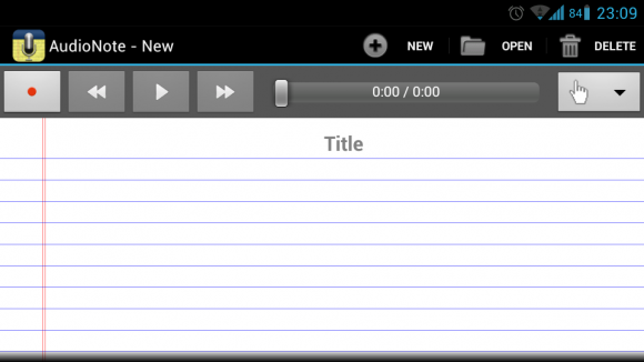 AudioNote for Android