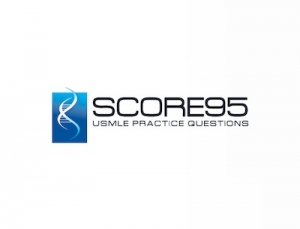 Score95 offers over 2,000 USMLE style practice questions in a mobile app